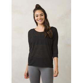 Prana Tranquil - T-shirt manches longues Femme - noir